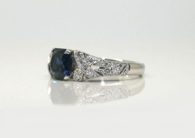 NSW Blue Sapphire Radiant Cut