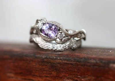 Nature-inspired ring